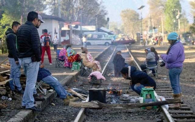 CNTE se deslinda de grupos que mantienen bloqueos en Uruapan - Foto Especial