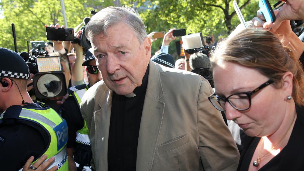Australia examina recurso del cardenal Pell contra condena por pederastia - George Pell. Foto de AFP