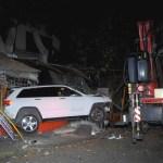 Conductor atropella a mujer en La Merced - Choque de camioneta contra puestos de La Merced. Foto de Noticias en la mira