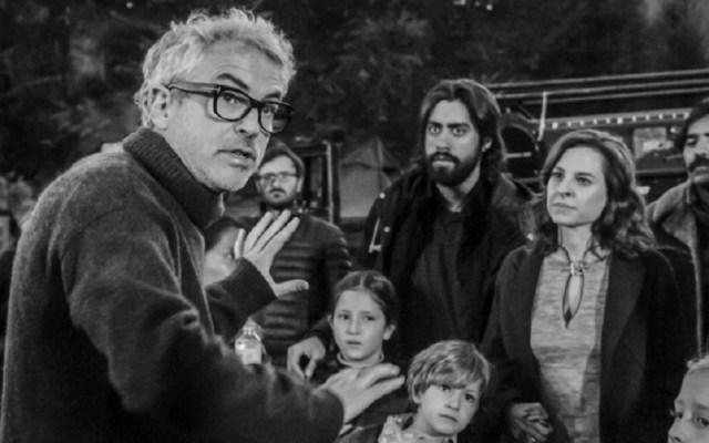 Alfonso Cuarón se alejará de redes sociales tras éxito de 'Roma' - Cuarón dirigiendo escena de Roma. Foto de Netflix