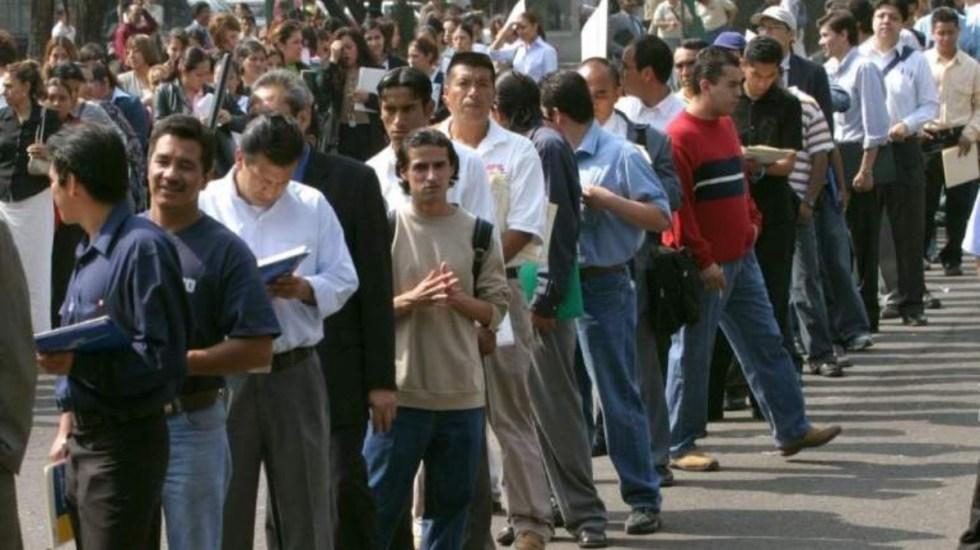 Aumenta desempleo 0.2 por ciento a nivel anual en enero - empleo