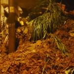 Alud de tierra sepulta a cuatro niños en Sao Paulo - Deslizamiento de tierra en Sao Paulo. Foto de @BombeirosPMESP