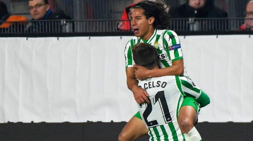 Lainez logra el empate del Betis en el minuto 90 - Foto de AFP