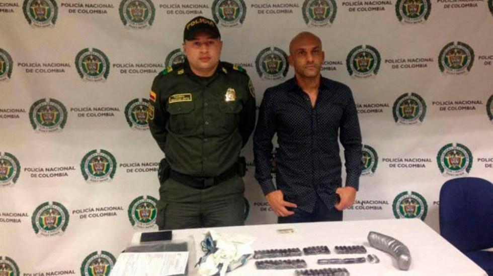 Condenan a exfutbolista colombiano por tráfico de drogas - Foto Especial