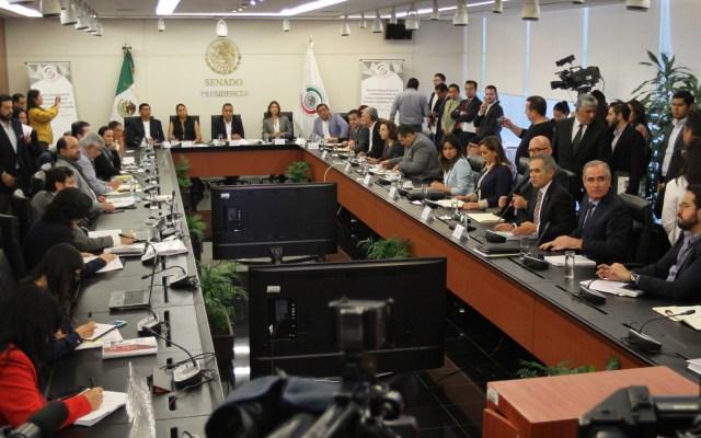 Morena va por nueve votos para aprobar Guardia Nacional - Senado analiza minuta sobre Guardia Nacional. Foto de Notimex