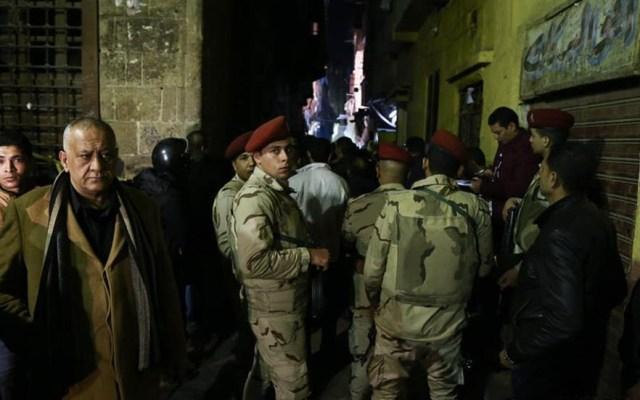 Explosión en El Cairo deja al menos tres muertos - Foto de Xinhua/Ahmed Gomaa