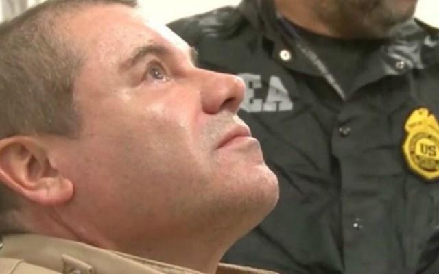 Dictarán sentencia contra 'el Chapo' este miércoles - Estados Unidos 'El Chapo' Guzmás tras ser extraditado a EE.UU. Foto de DEA