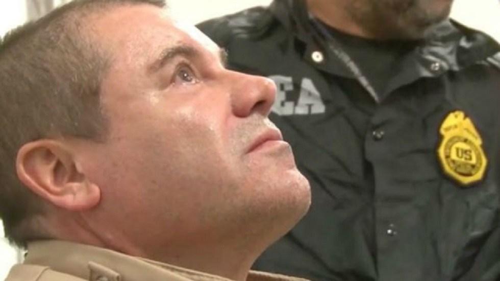 'El Chapo' prefirió irse a juicio que volverse un 'soplón': abogado - Estados Unidos 'El Chapo' Guzmás tras ser extraditado a EE.UU. Foto de DEA