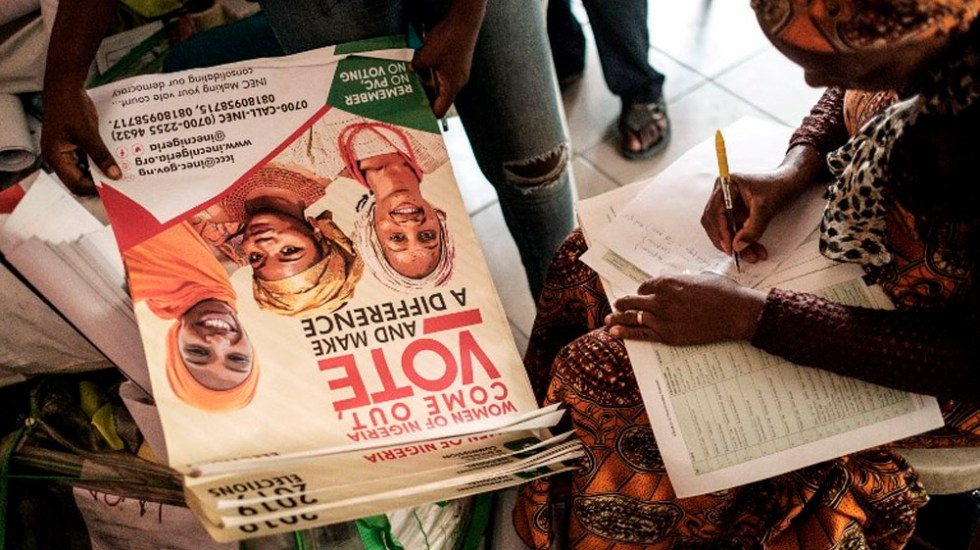 Nigeria elegirá a su presidente este sábado - Foto de Yasuyoshi CHIBA / AFP