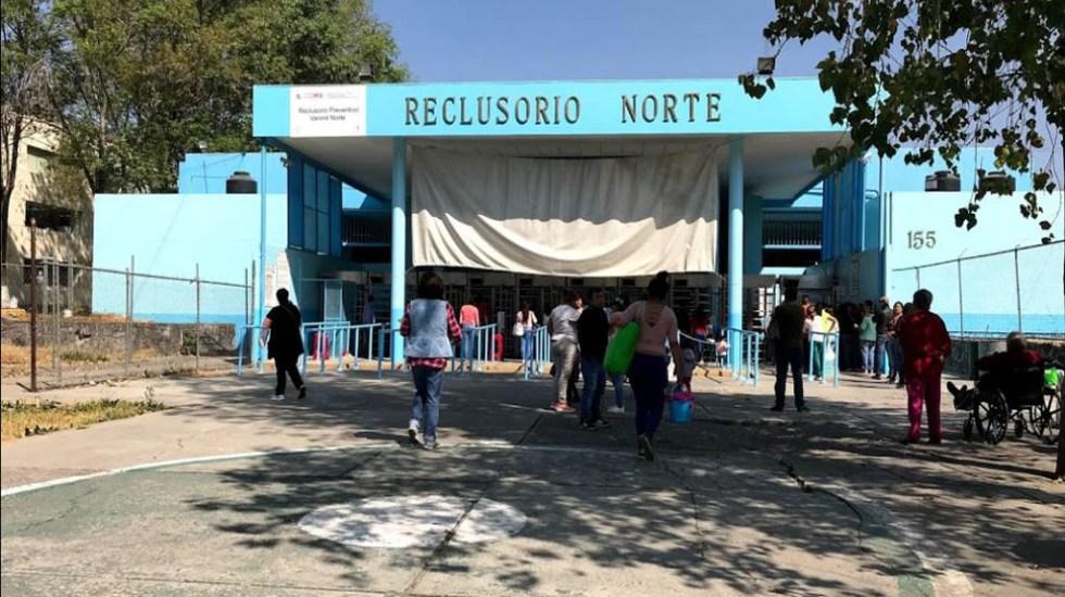 Dos peligrosos delincuentes ingresan con beneficios al Reclusorio Norte - Entrada del Reclusorio Norte. Foto de Juan Chávez