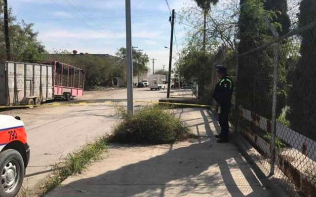 Encuentran restos de al menos dos personas en Escobedo, Nuevo León - Foto de @BlogDelRegio