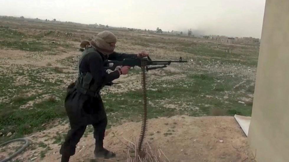 Intensifican ofensiva contra último reducto del Estado Islámico en Siria - Foto de AP