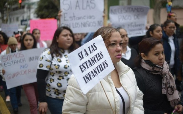 PT pide reconsiderar recortes presupuestales a estancias infantiles - Foto de Milenio