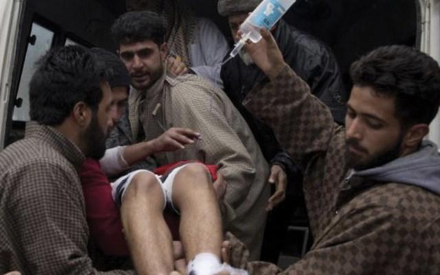 Al menso 25 estudiantes heridos por explosión en Cachemira - Foto de archivo
