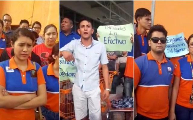 Supermercados se unen a huelgas en Matamoros - Foto de Sin Embargo