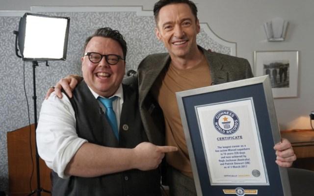 Hugh Jackman recibe Récord Guinness por su interpretación de Wolverine - Foto de Guinness World Records