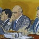 Defensa del 'Chapo' analiza opciones tras revelación del jurado - Foto de AP