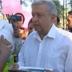 López Obrador ofrece mensaje desde Badiraguato, Sinaloa - Captura de pantalla