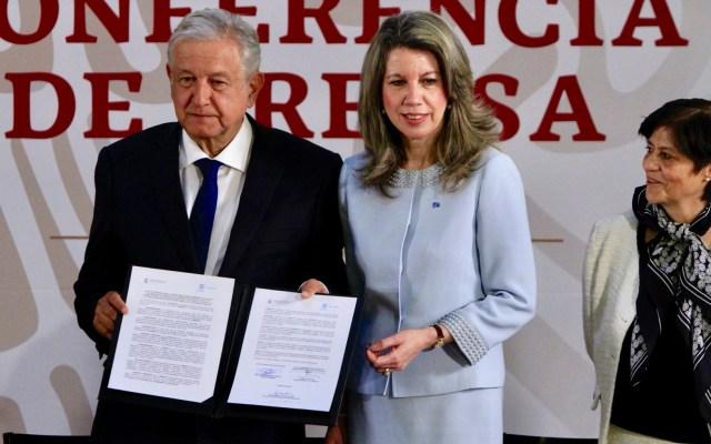 AMLO firma acuerdo con la ONU para garantizar calidad de agua en Morelos - AMLO firma acuerdo con la ONU para garantizar calidad de agua en Morelos