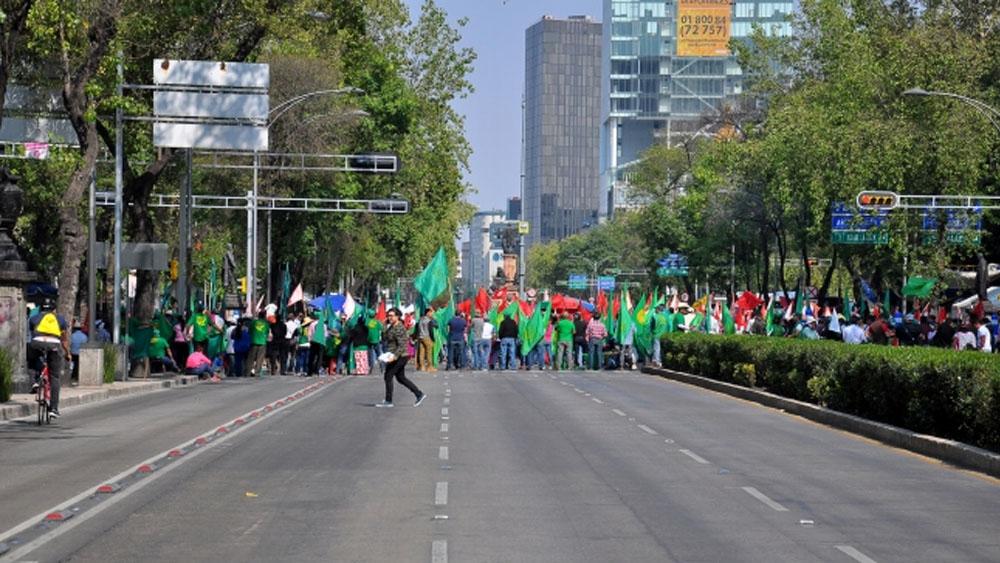 Las movilizaciones de este domingo en Ciudad de México. Noticias en tiempo real