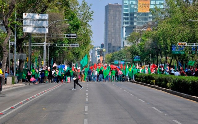 Al menos cuatromovilizaciones este miércoles en la Ciudad de México - Foto de Notimex
