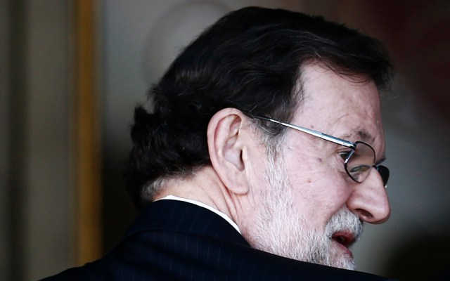 Mariano Rajoy declara en juicio a independentistas catalanes - Foto de AFP