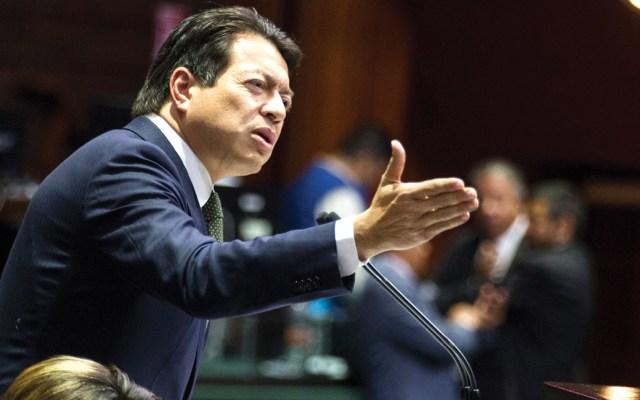 """Mario Delgado llama a Felipe Calderón """"beneficiario de uno de los fraudes electorales más vergonzosos en la historia"""" - Foto de Notimex"""