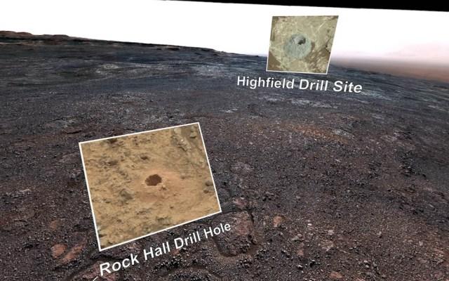 #Video NASA obtiene visión 360 grados de Marte - Marte en 360 grados. Captura de pantalla