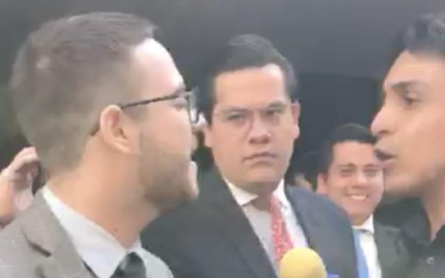 Morena y PAN se enfrentan en el Senado por crisis en Venezuela - Foto de captura de pantalla