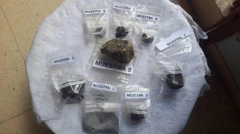 Hallan radioactividad en meteorito que cayó en Cuba - radioactividad