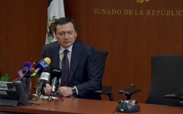 Faltó reconocimiento a México por captura de 'El Chapo': Osorio Chong - Miguel Ángel Osorio Chong, coordinador de los senadores del PRI. Foto de Notimex