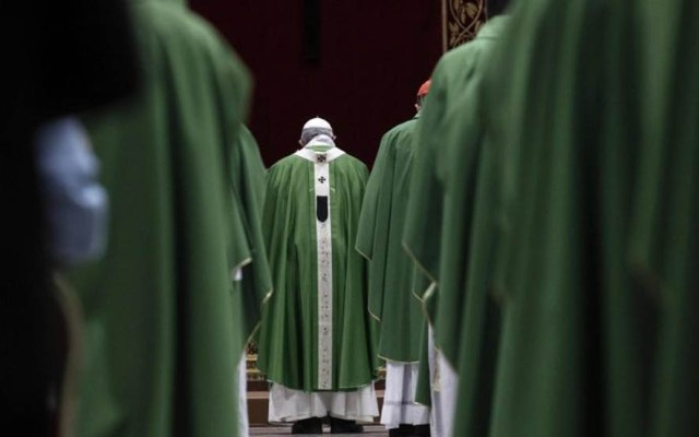 Iglesia enfrenta sus pecados en cumbre sobre pederastia - Misa en la conclusión del Encuentro sobre Protección de Menores en el Vaticano. Foto de Vatican News