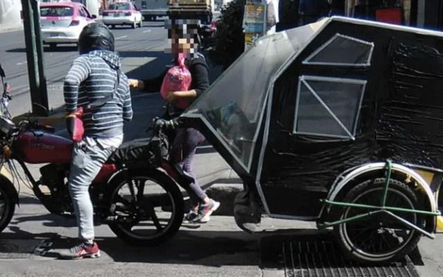 Piden integrar a la red de transporte a mototaxis en la Ciudad de México - Foto de El Big Data
