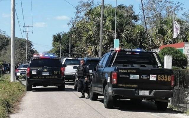 Detienen a cuatro tras balacera en Yucatán - Foto de @NOTIRIVAS