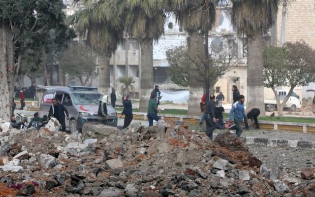 Atentado con coches bomba en Siria deja al menos 13 muertos - explosion de coches bomba en siria deja al menos 13 muertos