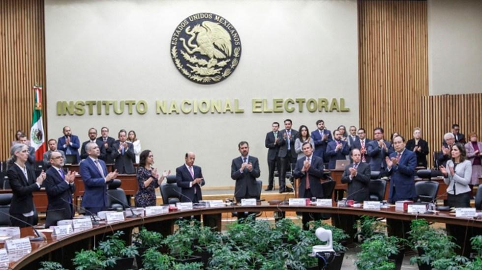 INE fija costo de elección en Puebla en 302 mdp - Foto de Notimex