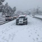Nevadas en Sonora y Chihuahua por tormenta polar y frente frío - Foto de @uepcsonora