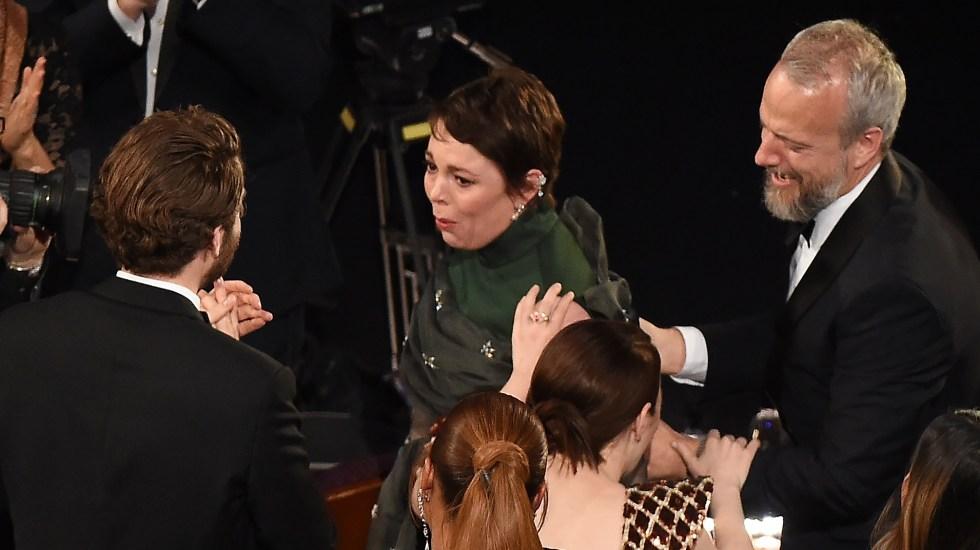 Resultado de imagen para Oscar para Olivia Colman,mejor actriz