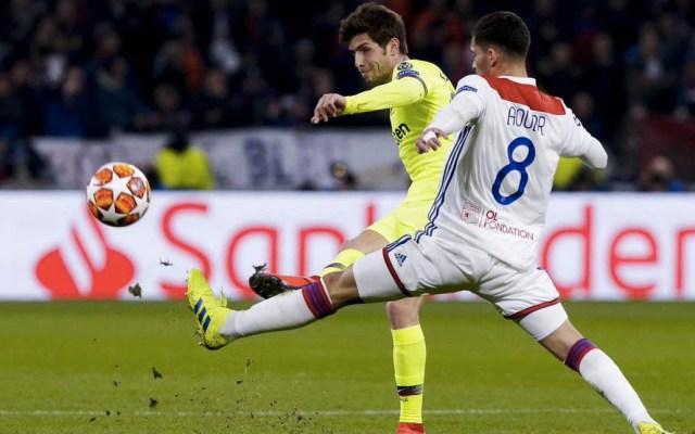 Falta de puntería deja sin goles la ida del Barcelona contra Lyon - Foto de @FCBarcelona_es