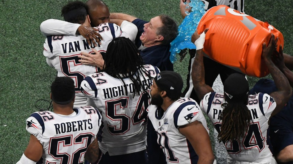 Patriotas ganan el Super Bowl LIII - patriotas ganan el Super Bowl