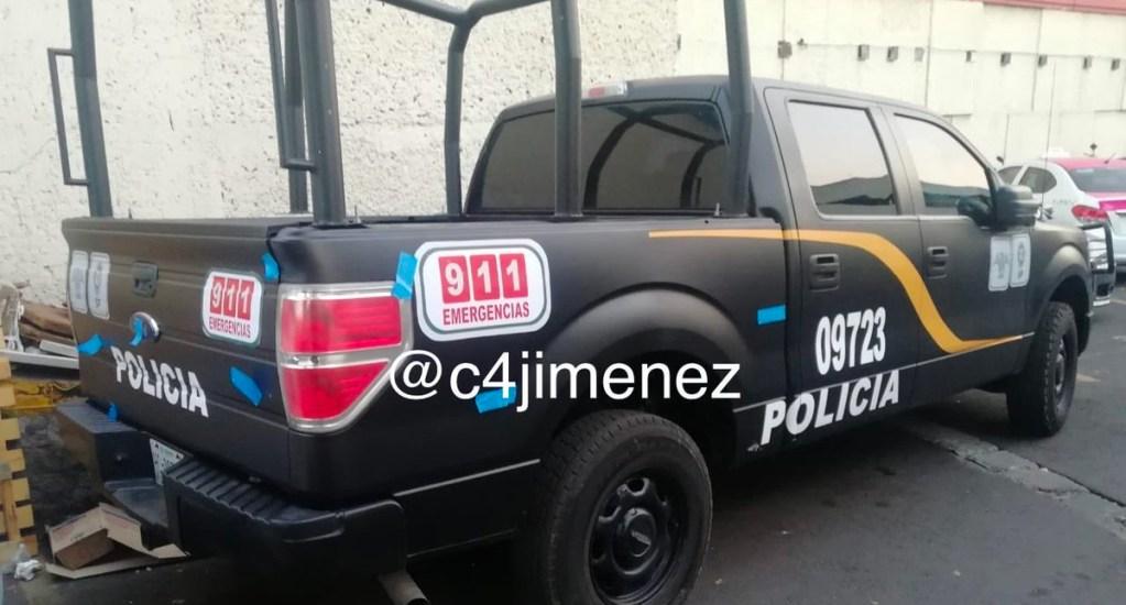 Detienen a ocho por clonar patrullas de la policía capitalina - Foto de c4jimenez