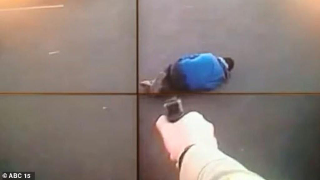 #Video Policía ataca a presunto terrorista en Arizona - Policía dispara a terrorista en Arizona