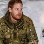 El príncipe Harry visita a infantes de marina en Noruega - Foto de AFP
