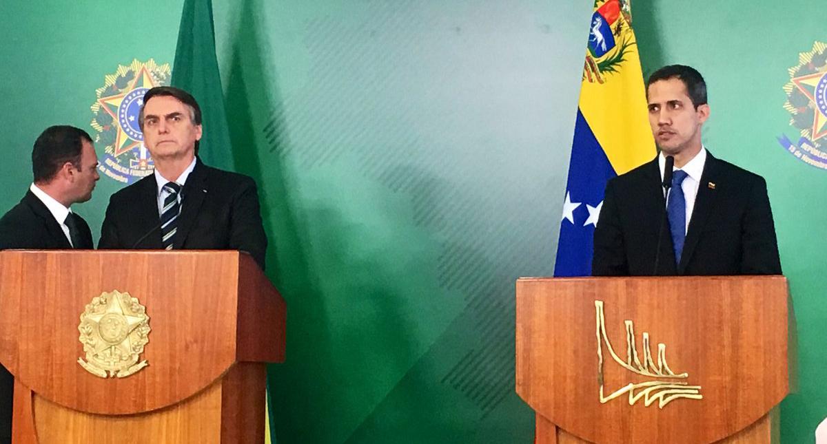 Juan Guaidó se encuentra en Argentina