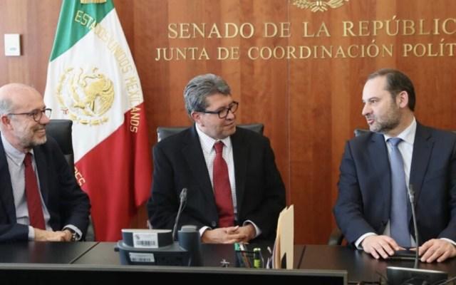 Define Monreal prioridades legislativas de Morena en el Senado - Foto de @RicardoMonrealA