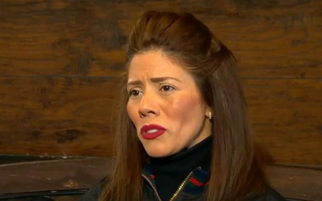 #Video Hija mayor asegura que 'el Chapo' no es millonario - Rosa Isela Guzmán, hija mayor del Chapo. Captura de pantalla