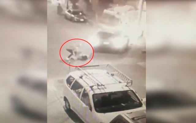 #Video Mujer evita secuestro en Coyoacán