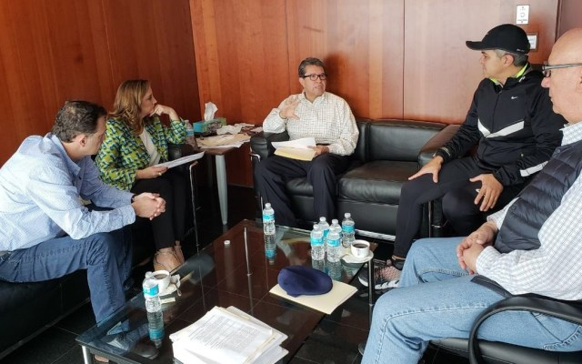 Senadores de oposición entregan contrapropuesta sobre Guardia Nacional - Foto de @RicardoMonrealA