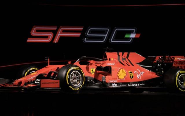 Ferrari buscará reconquistar la Fórmula 1 con el nuevo SF90 - El nuevo SF90 durante su presentación en Maranello. Foto de Ferrari