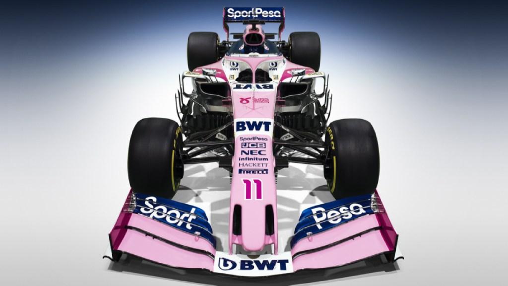 Racing Point presenta su equipo para la próxima temporada de la F1 - sergio perez racing point nuevo equipo